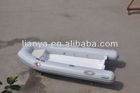 Liya CE certified inflatable boats flat bottom boats pvc tube boat