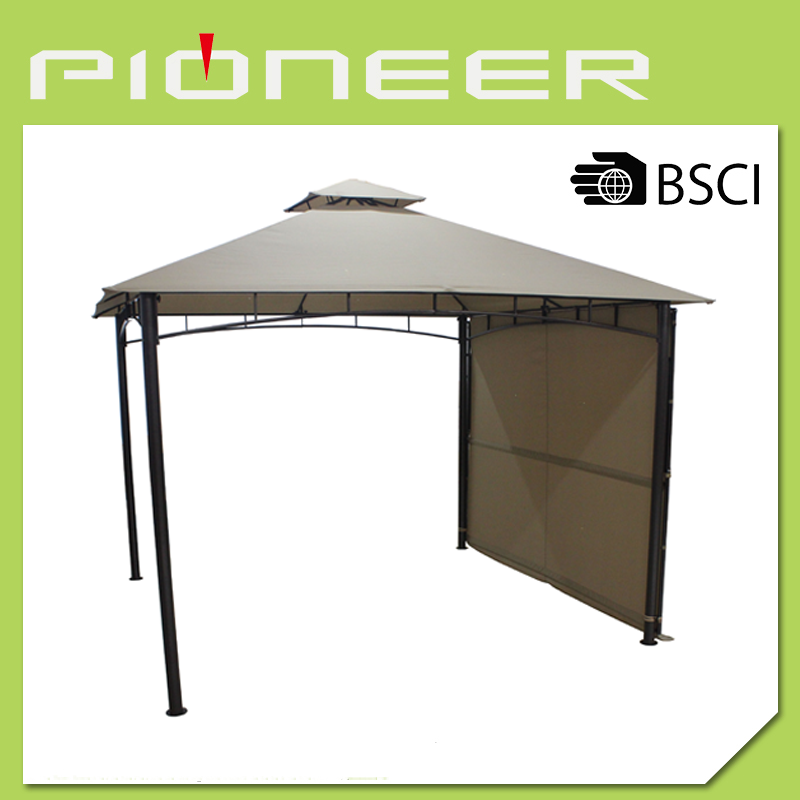 BBQ Metal gazebo with awning