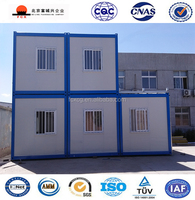 New Design Best Sell Long Life Span Mobile and Portable Container Prefab House