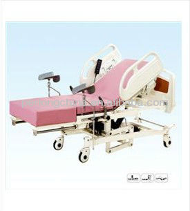 Epoxy Coated Steel Bed Frame Electric Obstetric Labor and Delivery Bed B48