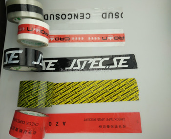 Printed cellotape carton packing rolls from China