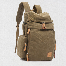 2015 new brand back bag for men canvas backpacks