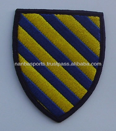 Machine Embroidered Badge | Embroidered Patch | Woven Badges