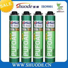 750ml cheap spray expendable foam tripple expansion