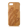 Engraving wood phone case high quality wooden case natural wood phone shell for iPhone 7 /7Plus