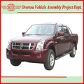 single, double cabin diesel pickup 4x4 drive for Africa
