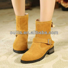 flats women leather boots 2013 high quality fashion boots PS2508