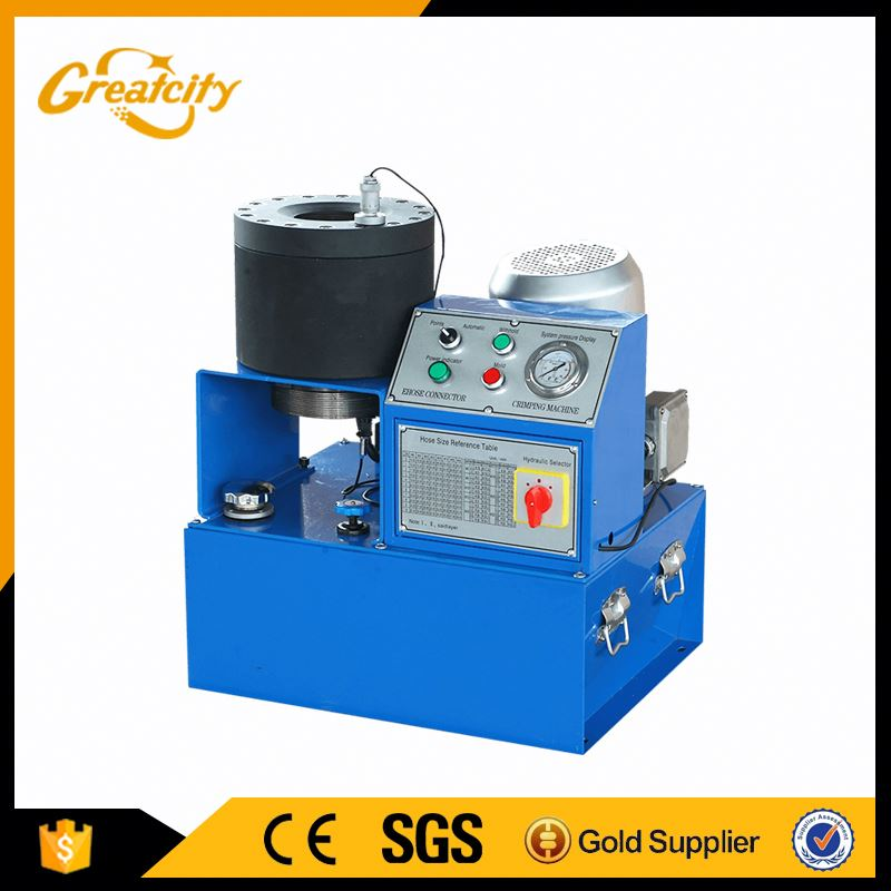 hydraulic hose crimping machine 4 inch