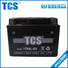 Wholesale 12V 4AH MF lead acid battery for electric start generator/automobil/Scootere