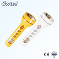 new design super power plastic led solar flashlight