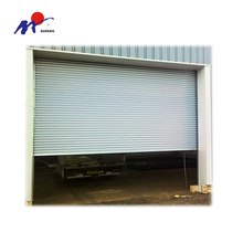 Modern style auto operate rolling shutter door of 77mm slats