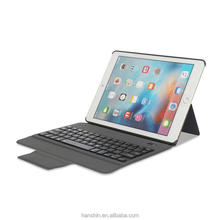 Ultra-Slim Wireless Keyboard Case with PU leather Compatible for Apple iPad Air/Air 2 and iPad Pro 9.7