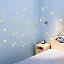 Safe and nice packing glow in the dark wall sticker