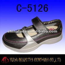 italian fashion comfortable flat women casual shoes 2012