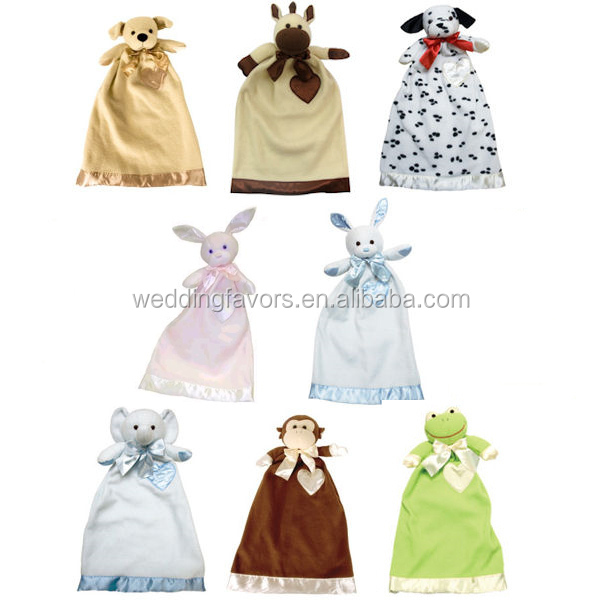 Personalized Lovie Animal Blanket (8 Designs)