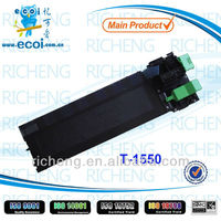 2014 NEW product Copier Mono Toner Cartridge T-1550 for use on Toshiba from China supplier of print consumables