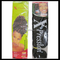 wholesale price expression hair extension for braiding