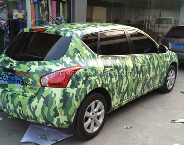 Digital Camouflage Vinyl Wrap for Vehicle , trucks , for hunting