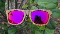 2016 unique solid technical wood sunglasses ,Handicrafted Artwood