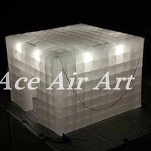 brightest inflatable camping cube tents for sale event,party,wedding inflatable tent with rooms