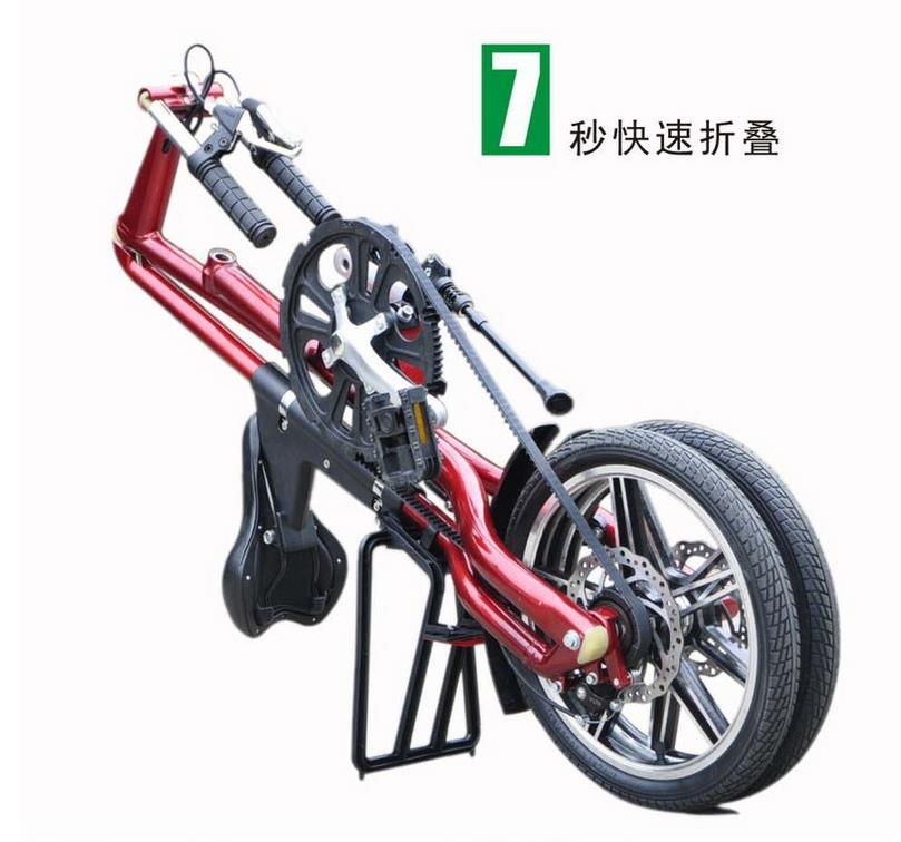 Children Adult Mini Bike belt <strong>bicycle</strong> Aluminum alloy 16 inch Folding <strong>Bicycle</strong>
