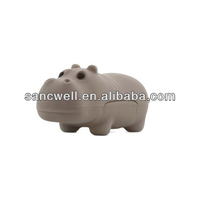 Custom Hippo Shaped USB Flash Drive