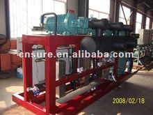parallel refrigeration compressor unit
