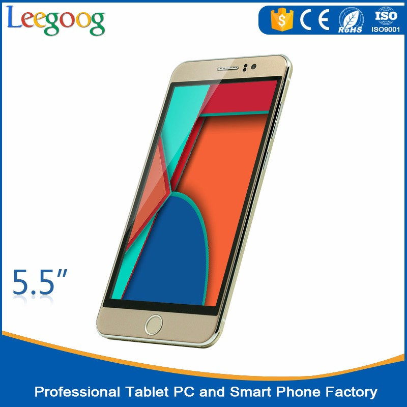 Wholesale New 5.5 inch Android Smart Phone Quad Core China OEM mobile Phone