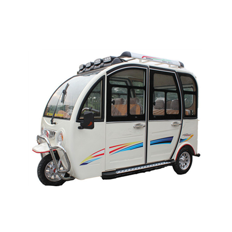 3 wheel electric pedal car electric tricycle 4 passenger car for adults