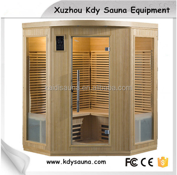 5 person Luxury infrared home saunas for sale carbon heater