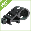 customized metal rail mount fits scopes balck flashlight rail mount
