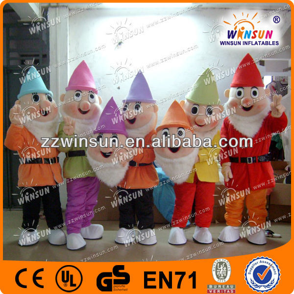 seven dwarfs cartoon characters fancy dress