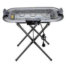 Wonderful freestanding smokeless stainless steel electric bbq grill with detachable bracket