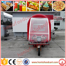 2017New style CE approved food truck van/mobile food trailer/mini truck food for sale
