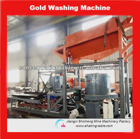 alluvial dust gold extraction machine