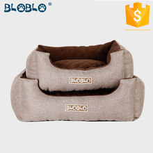Kikiland new design for natural decoration fabric durable luxury pet bed