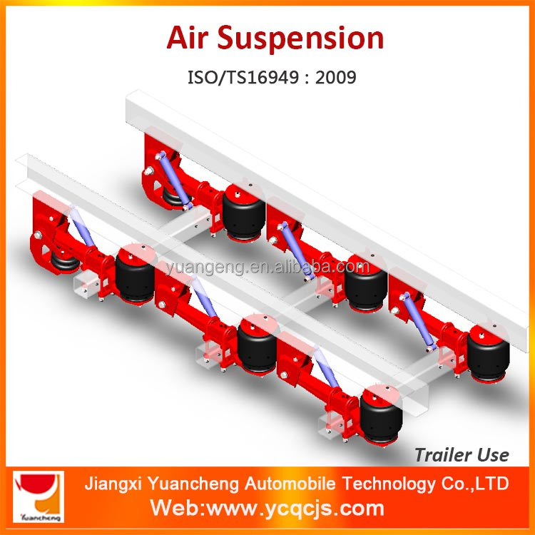 China Factory Leaf Spring Air Suspension for Malaysia Market