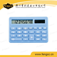 2016 Promotion customized 8 digits small size scientific desktop calculator