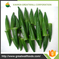 China supplier frozen whole okra