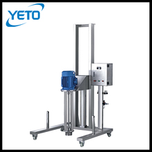 Stainless steel Batch high shear dispersing emulsifying mixer homogenizer for cosmetic, chemical, food