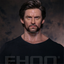 super realist celebrity silicone wax figure of famous movie character Wolverine