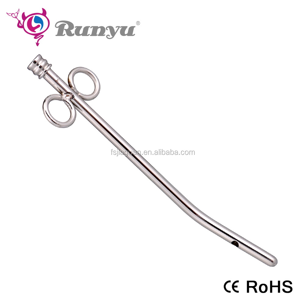 Hollow Stainless Steel Urethral Penis Plug and Sound CBT Toy