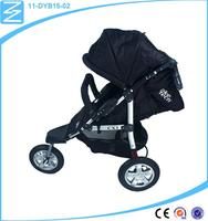 low price brake safety system pneumatic tyre foldable buggy stroller