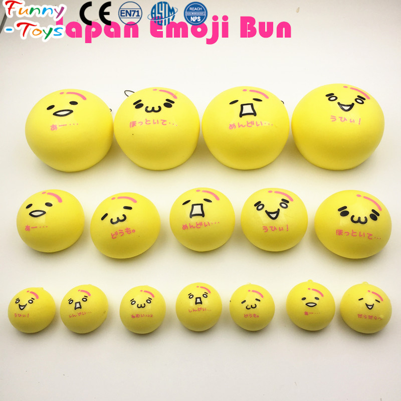 Custom Design New Styles Cute Face Bread Bun Squishy Charms Kawaii Squishies Wholesale Kids Toy Christmas