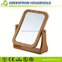 Double-side table style high quality mirror wooden frame