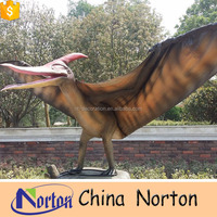 Outdoor Metal Real Size Animatronic Dinosaur For Sale NTFD-094S