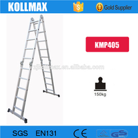 China wholesale multi-purpose ladder with scaffold plates