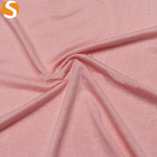100% Rayon Viscose Spandex Soft Touch Solid Single Jersey Knit Fabric