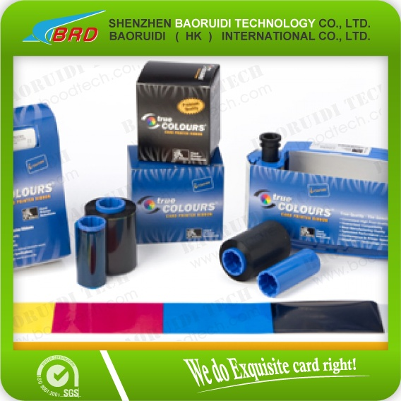 Zebra 800033-840 Color Ribbon - YMCKO - 200 prints true colours card printer ribbon