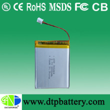 DTP OEM 3.7V/Li-ion Polymer Battery, 3000mAh for Power Bank with BIS Certified